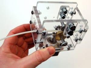 Piñones metálicos impresora