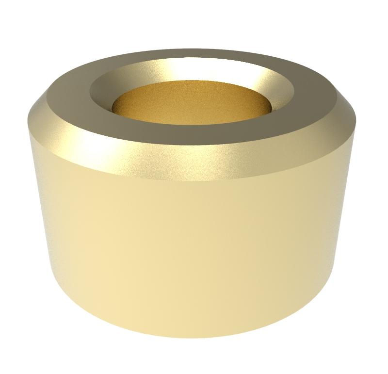 Casquillo Diametro interior 4.00mm, Longitud 5.00mm, Material Bronce sinterizado