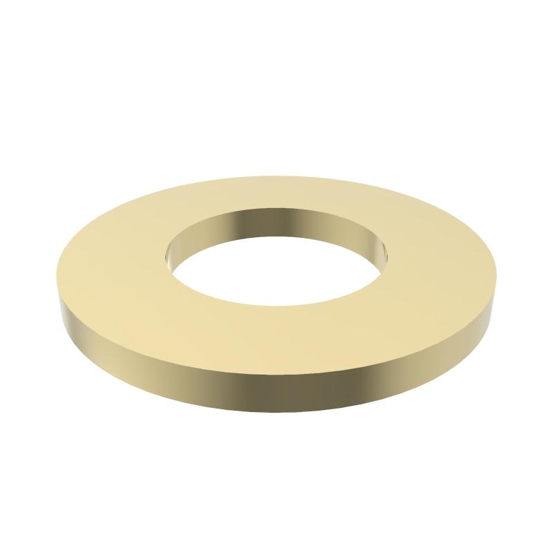 Arandela Diametro interior 3.10mm, Espesor 0.50mm, Tipo normal  Se venden en lotes indivisibles de 30 unidades