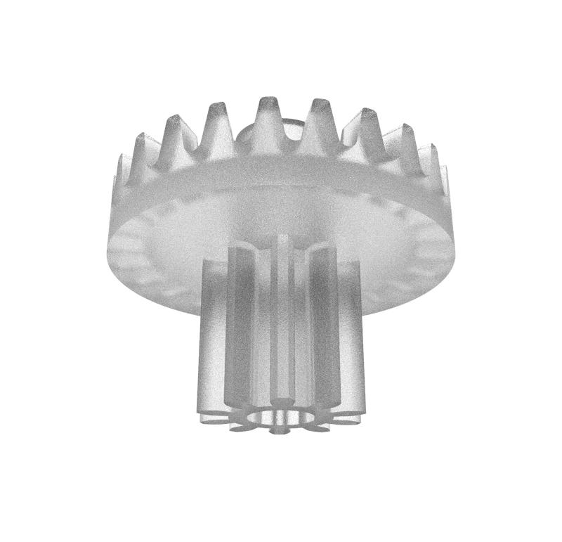 Corona Módulo 0.500, Dientes 24Z
