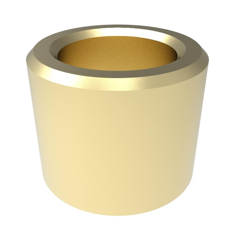 Casquillo Diametro interior 8.00mm, Longitud 10.00mm, Material Bronce sinterizado