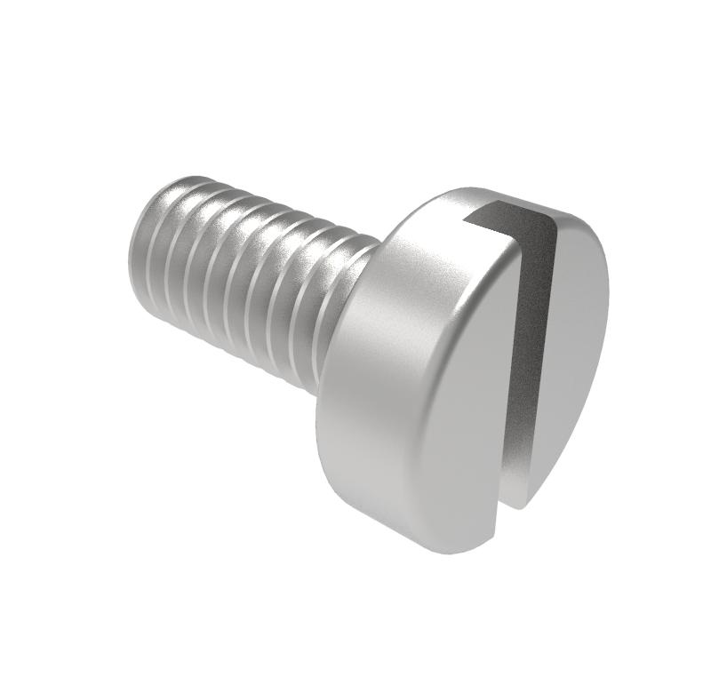 Tornillo Diámetro 2.00mm, Longitud 4.00mm, Tipo rosca métrica   Se venden en lotes indivisibles de 30 unidades