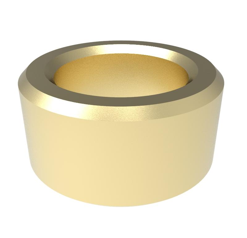 Casquillo Diametro interior 8.00mm, Longitud 6.00mm, Material Bronce sinterizado