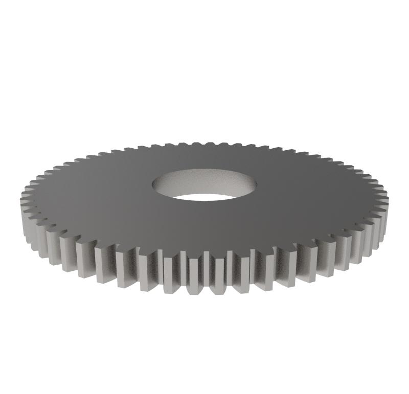 Engranaje de metal Módulo 0.300, Dientes 60Z, Forma recto