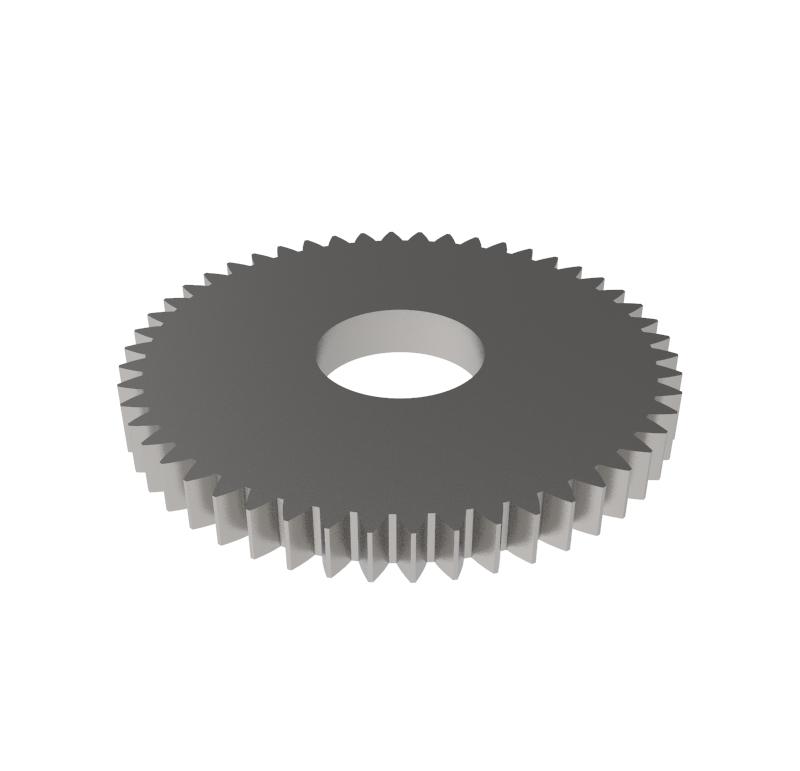 Engranaje de metal Módulo 0.500, Dientes 50Z, Forma recto