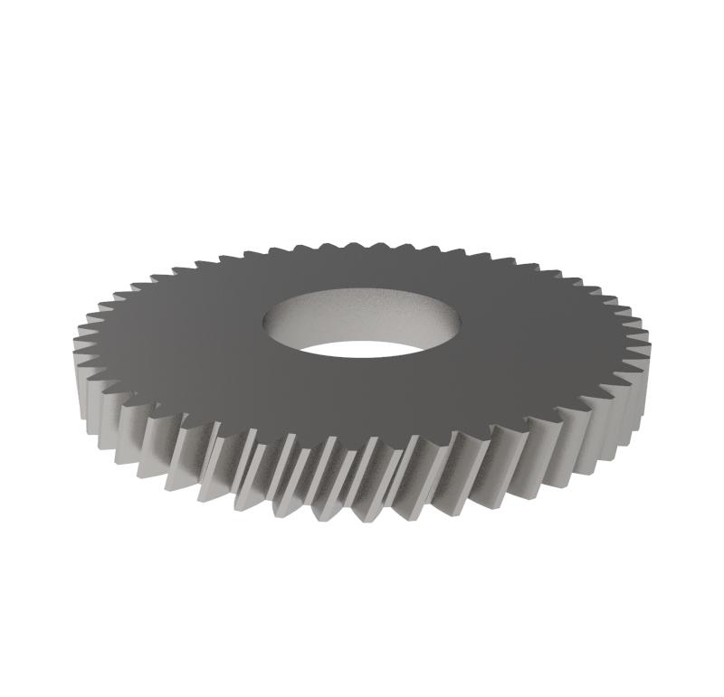 Engranaje de metal Módulo 0.400, Dientes 51Z, Forma