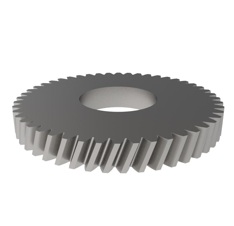 Engranaje de metal Módulo 0.400, Dientes 48Z, Forma helicoidal