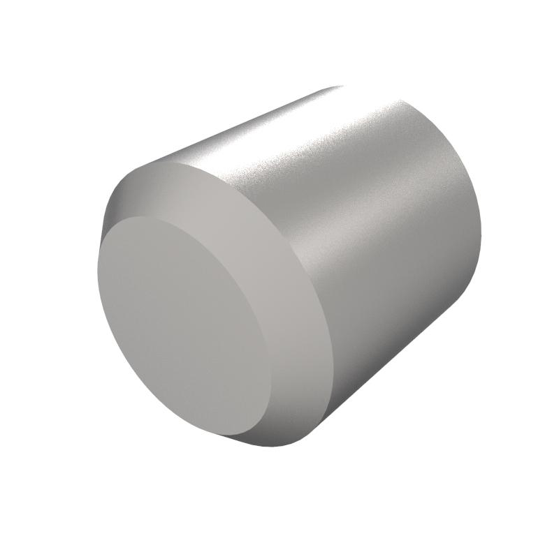 Eje Diametro 4.00mm, Longitud 4.60mm