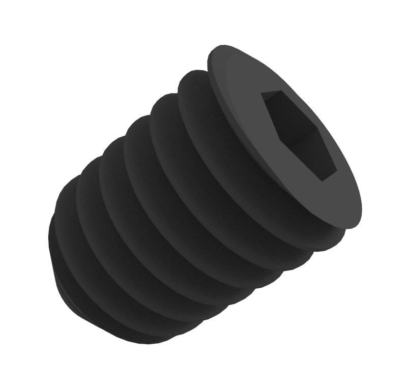 Tornillo Diámetro 2.00mm, Longitud 3.00mm, Tipo rosca métrica   Se venden en lotes indivisibles de 30 unidades