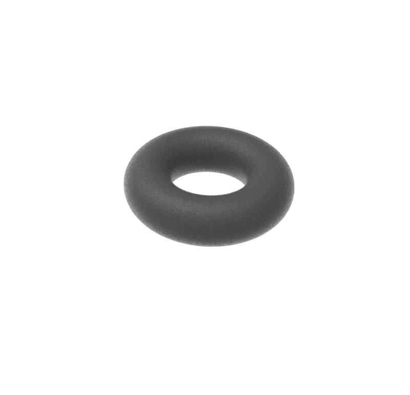 Arandela Diametro interior 3 mm, Espesor 2,00mm, Tipo de goma (Pack de 30)