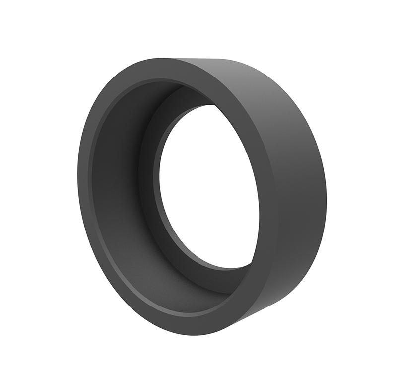 Casquillo Diametro interior 21,8 mm, Longitud 8 mm, Material NBR  Este accesorio puede ensamblarse en los siguientes rodamientos:  -Rodamiento Ref.105 .