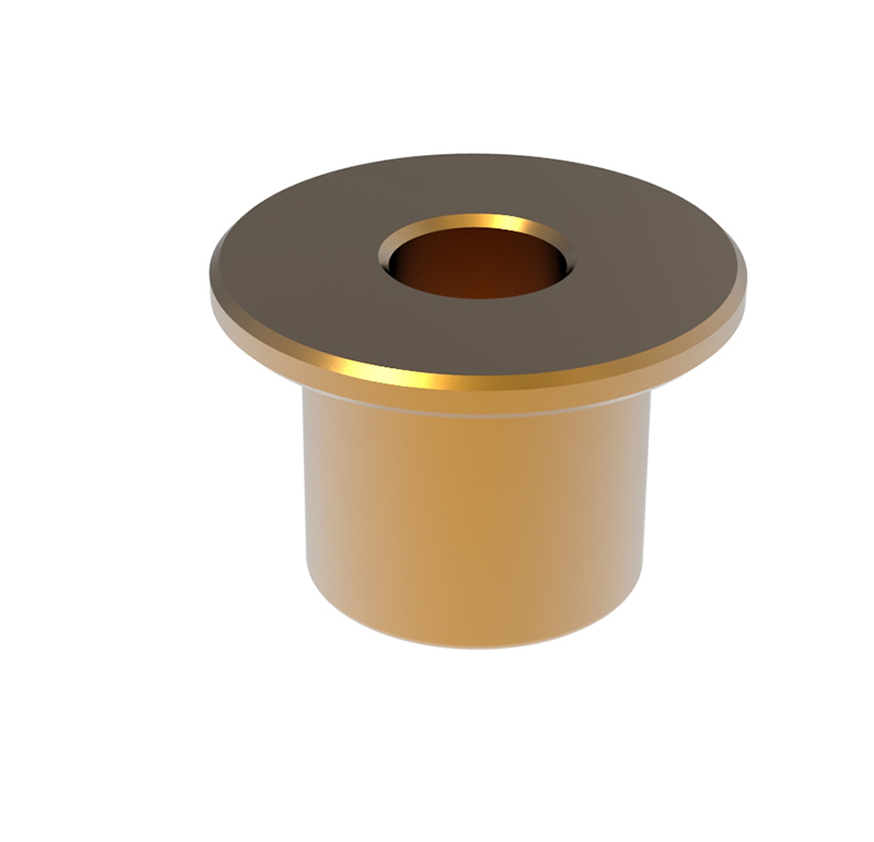 Casquillo Diametro interior 4.00 mm, Longitud 8.00mm, Material bronce