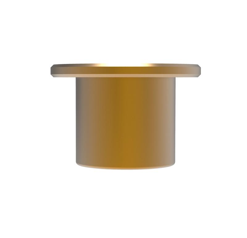 Casquillo Diametro interior 4.00mm, Longitud 8.00mm, Material Bronce sinterizado