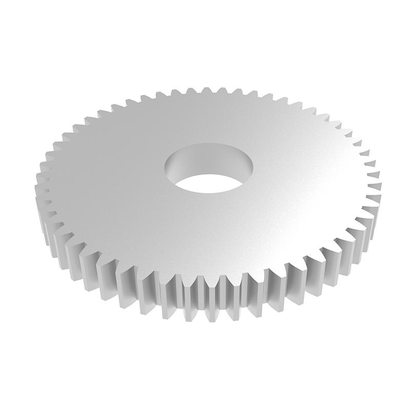 Engranaje de metal Módulo 0.60, Dientes 54Z, Forma recto