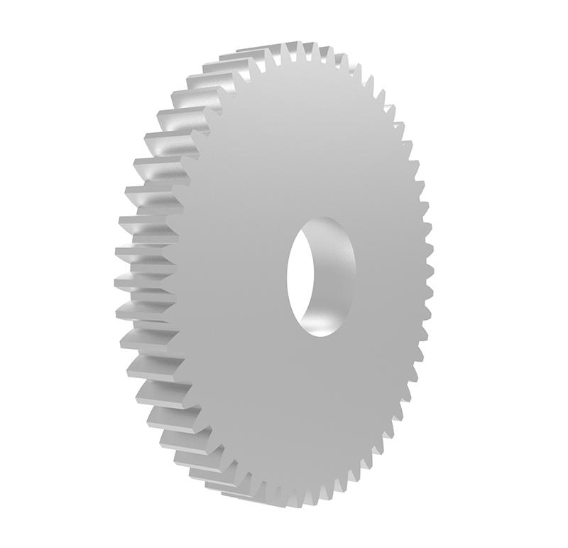 Engranaje de metal Módulo 0.600, Dientes 54Z, Forma