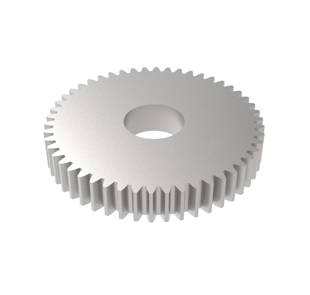 Engranaje de metal Módulo 1.000, Dientes 50Z, Forma
