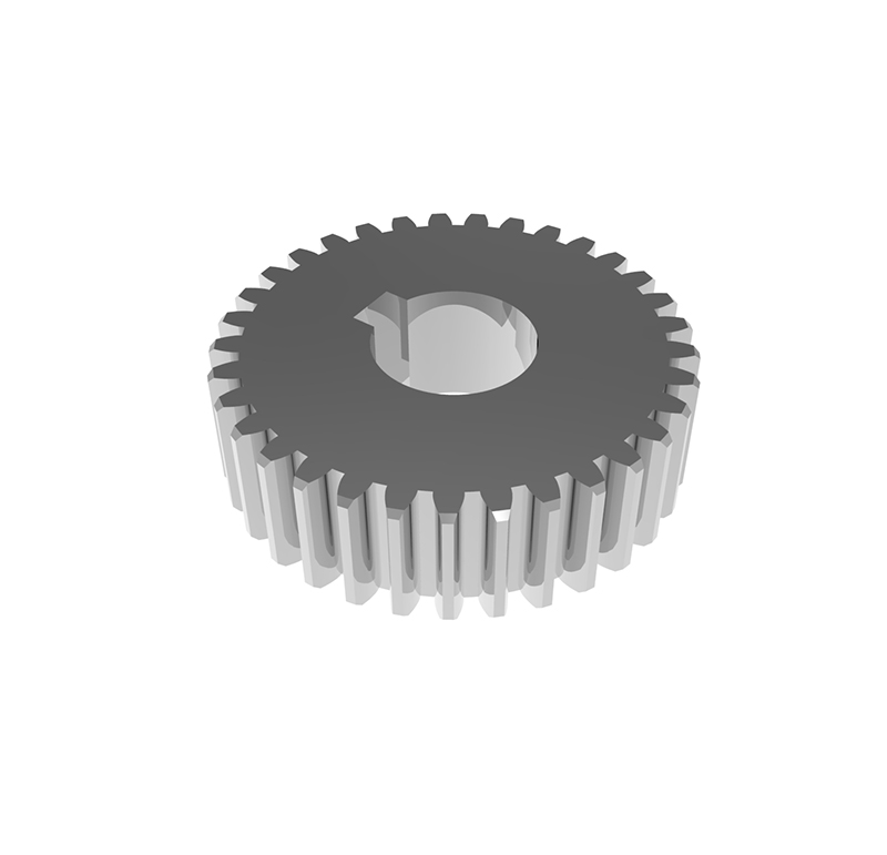 Engranaje de metal Módulo 1,25, Dientes 33Z, Forma recto
