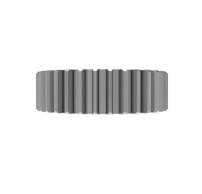 Engranaje de metal Módulo 1.250, Dientes 33Z, Forma