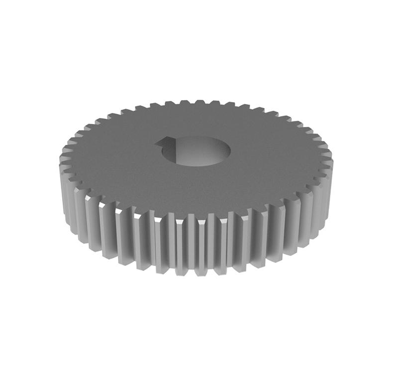 Engranaje de metal Módulo 1,25, Dientes 45Z, Forma recto