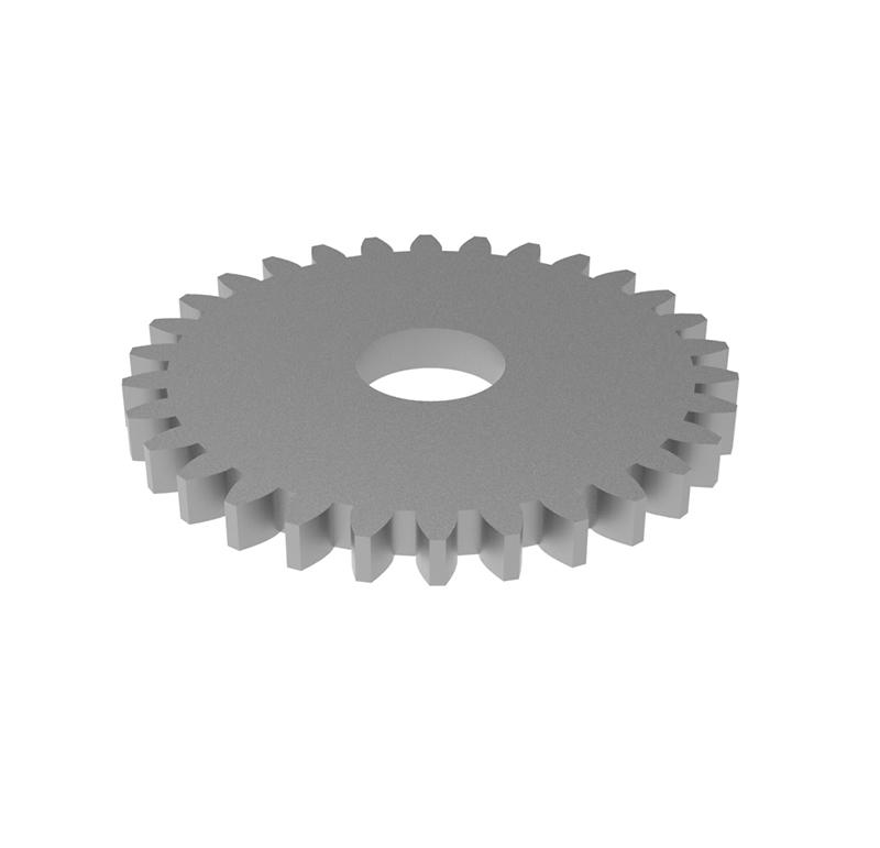 Engranaje de metal Módulo 0.60, Dientes 30Z, Forma recto