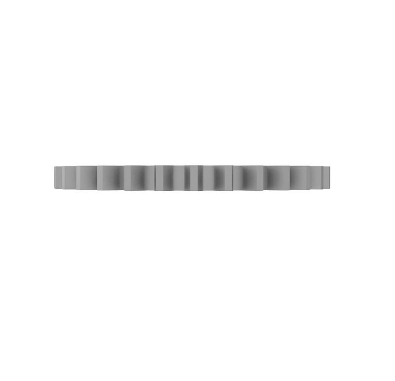 Engranaje de metal Módulo 0.600, Dientes 30Z, Forma