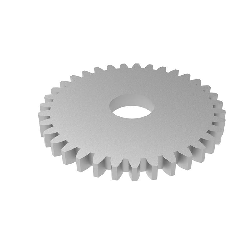 Engranaje de metal Módulo 0.50, Dientes 35Z, Forma recto