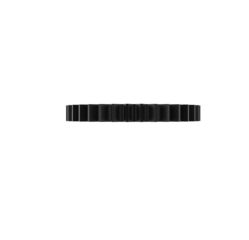 Engranaje de metal Módulo 0.500, Dientes 35Z, Forma