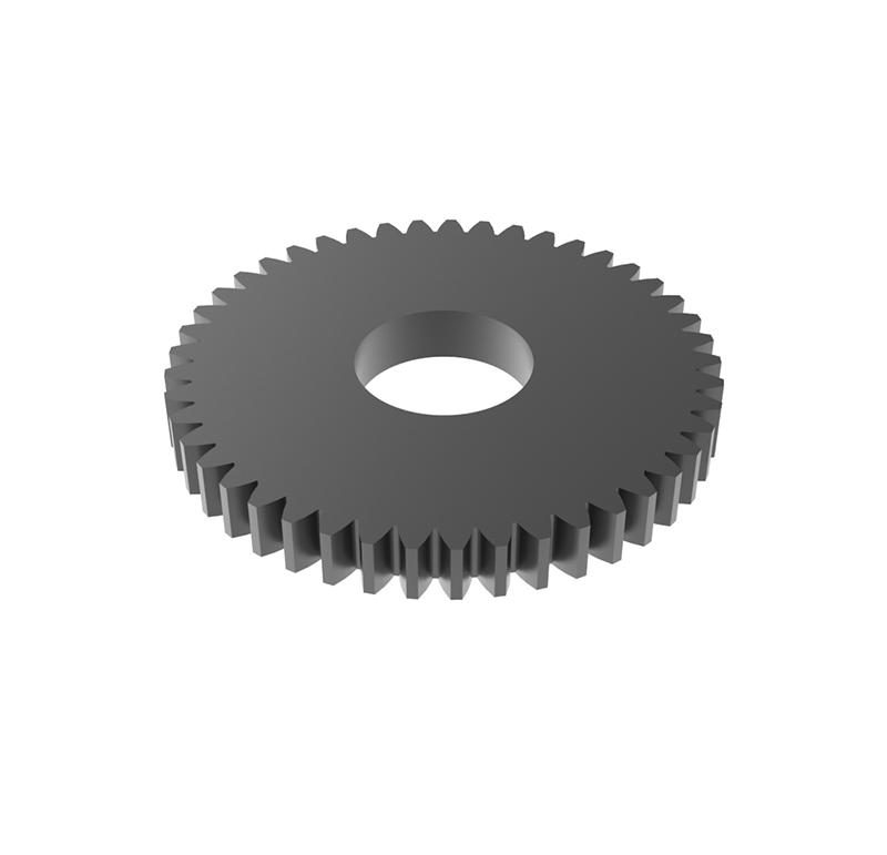 Engranaje de metal Módulo 0.50, Dientes 45Z, Forma recto