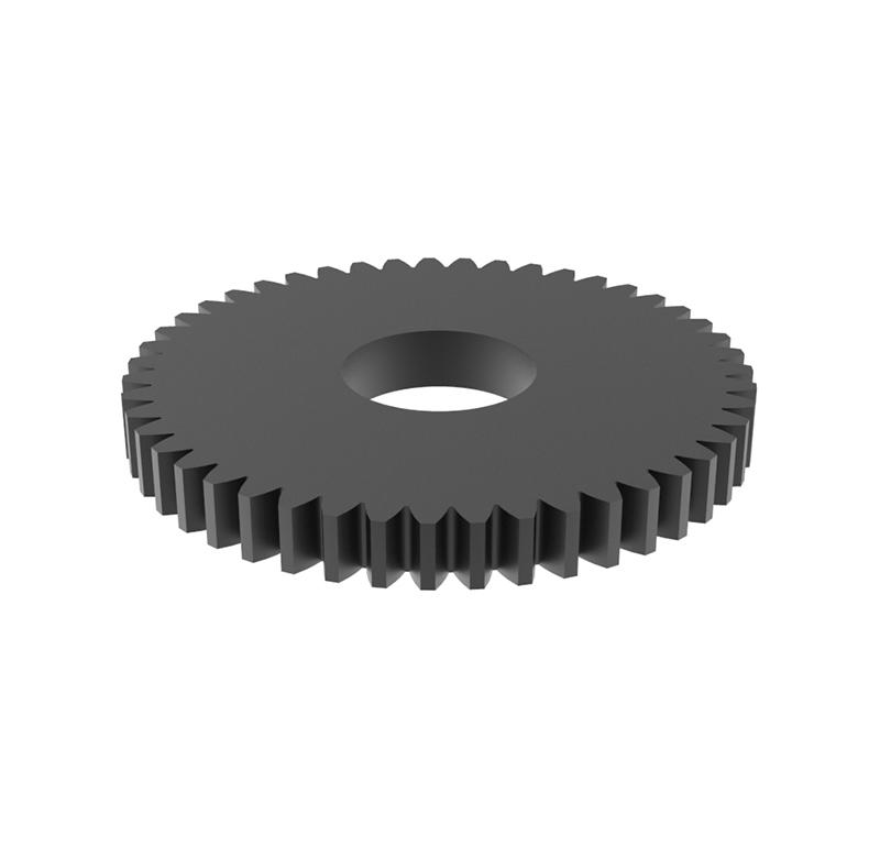 Engranaje de metal Módulo 0.50, Dientes 47Z, Forma recto
