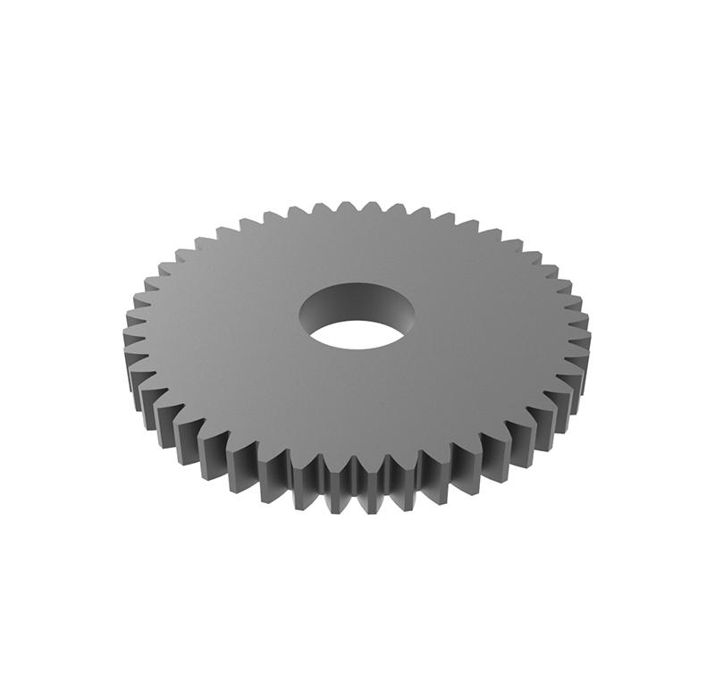 Engranaje de metal Módulo 0.50, Dientes 46Z, Forma recto