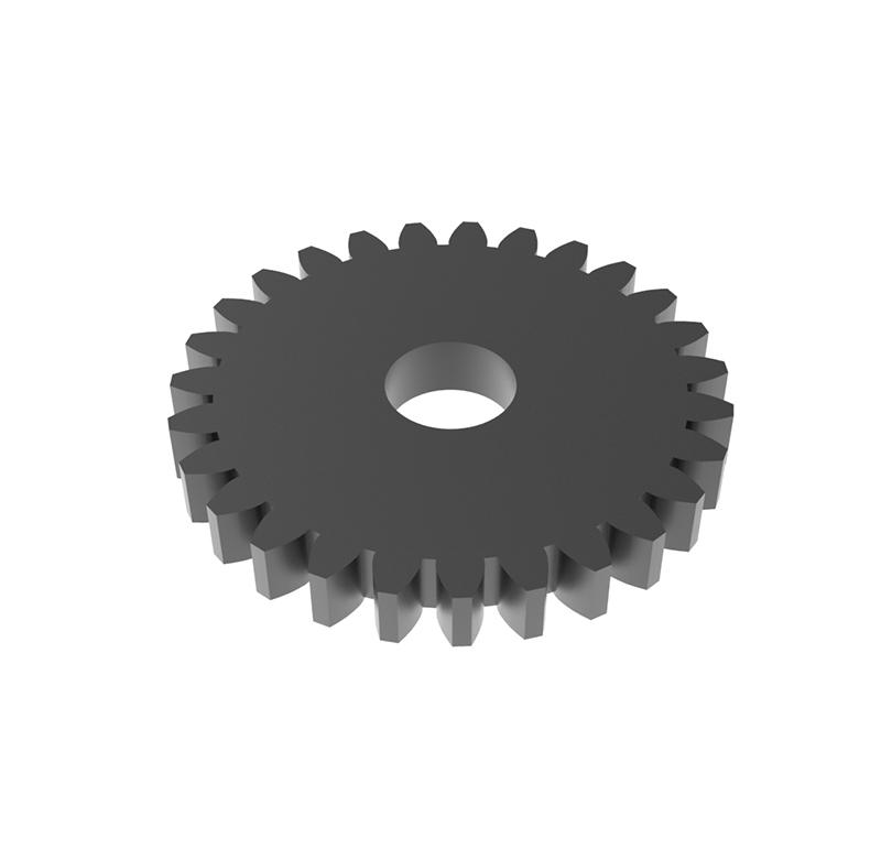 Engranaje de metal Módulo 0.60, Dientes 27Z, Forma recto