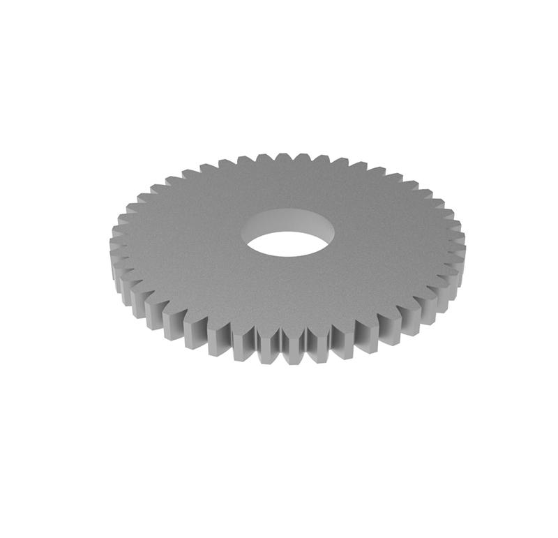 Engranaje de metal Módulo 0.40, Dientes 46Z, Forma recto