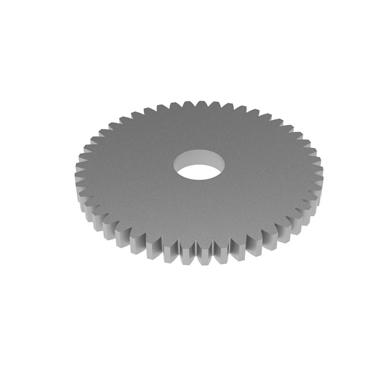 Engranaje de metal Módulo 0.400, Dientes 47Z, Forma