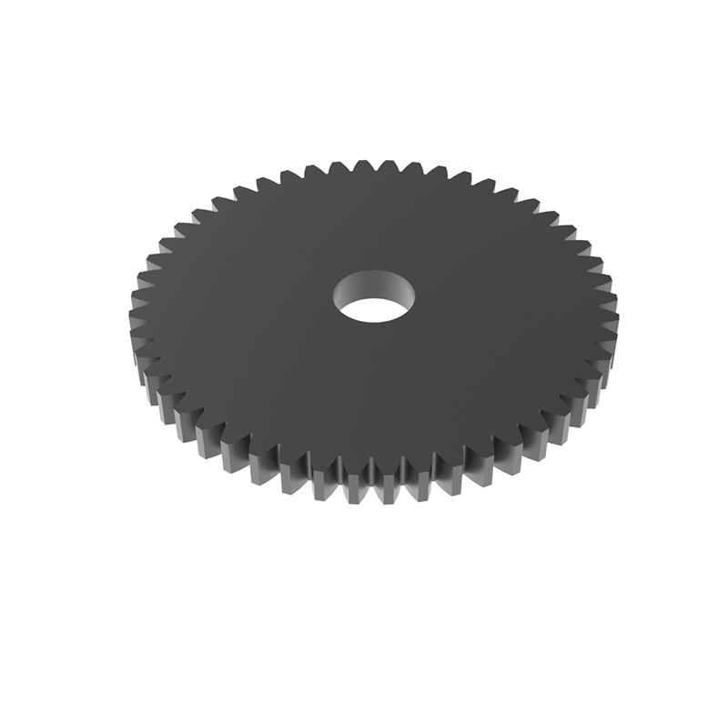 Engranaje de metal Módulo 0.75, Dientes 50Z, Forma recto