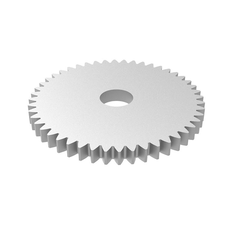 Engranaje de metal Módulo 0.50, Dientes 48Z, Forma recto