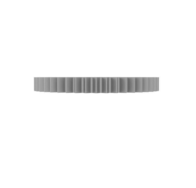 Engranaje de metal Módulo 0.500, Dientes 54Z, Forma