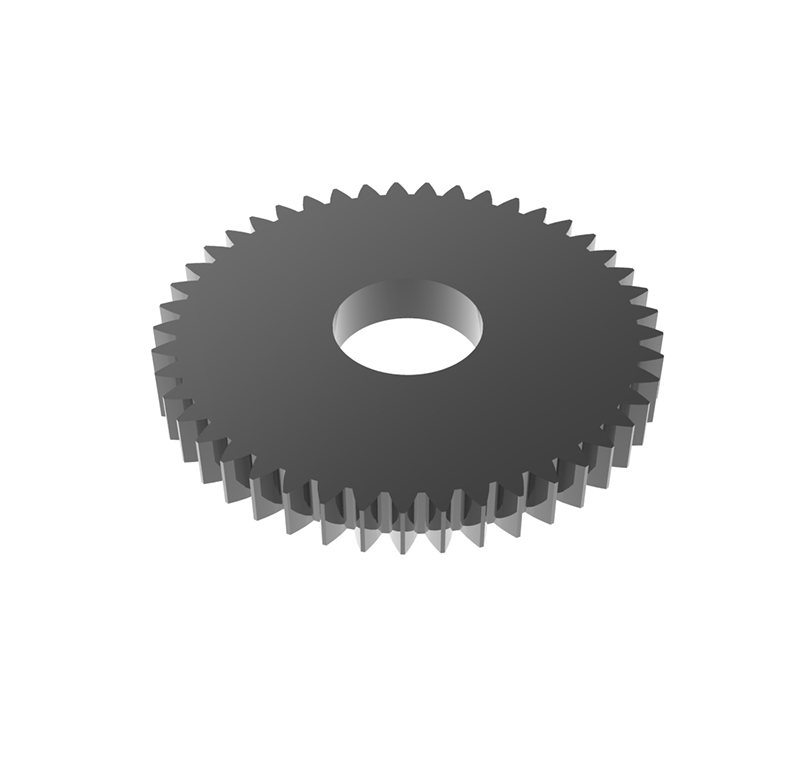 Engranaje de metal Módulo 0.50, Dientes 54Z, Forma recto