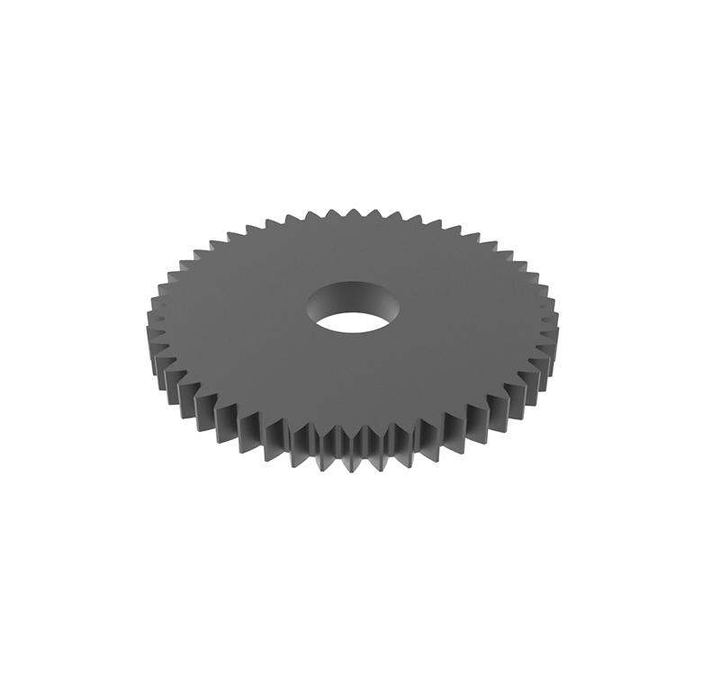 Engranaje de metal Módulo 0.50, Dientes 50Z, Forma recto