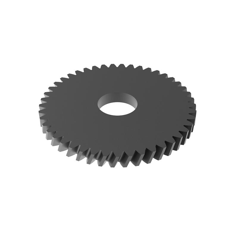 Engranaje de metal Módulo 0.50, Dientes 50Z, Forma helicoidal