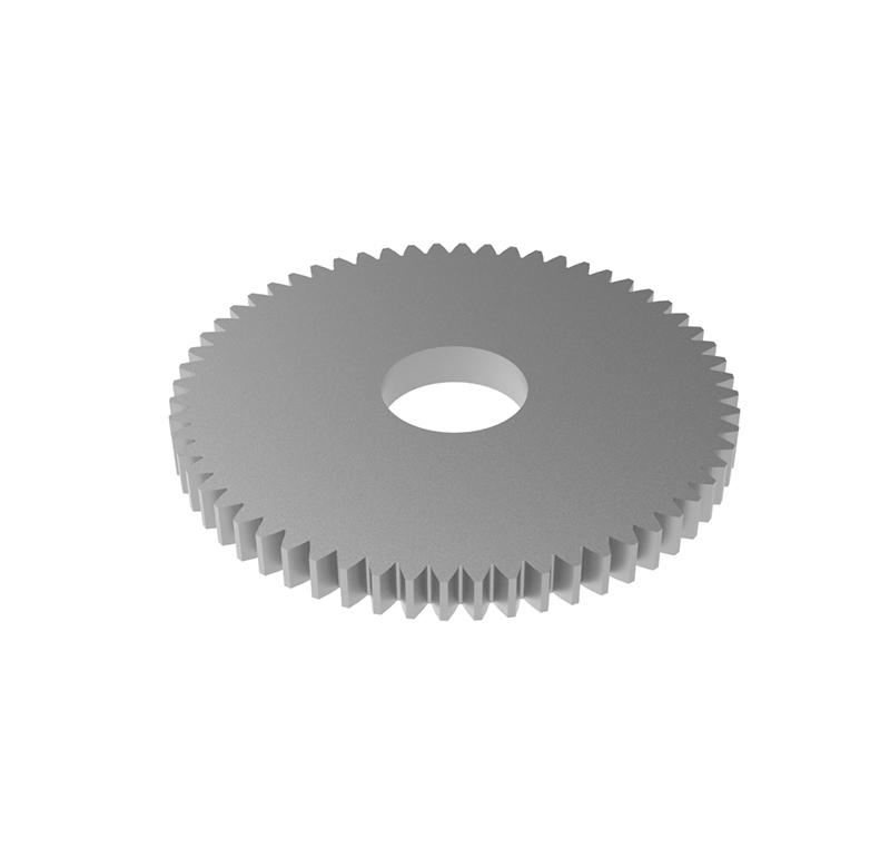 Engranaje de metal Módulo 0.500, Dientes 60Z, Forma