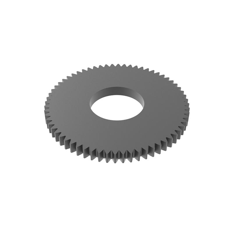 Engranaje de metal Módulo 0.500, Dientes 64Z, Forma