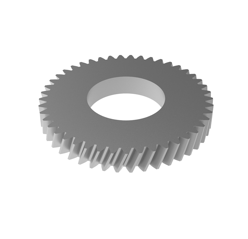 Engranaje de metal Módulo 0.40, Dientes 45Z, Forma helicoidal