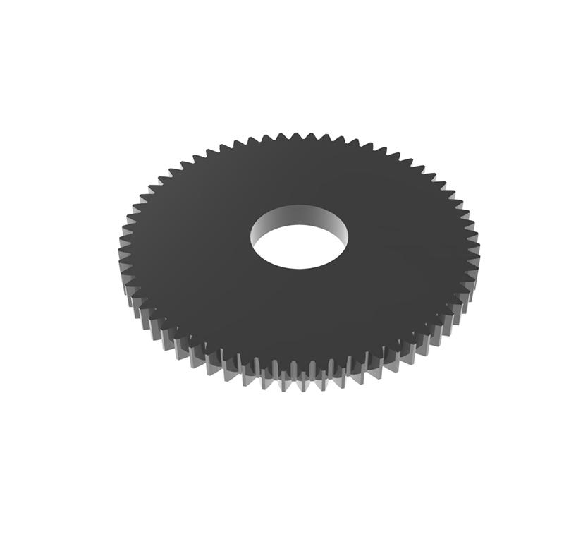 Engranaje de metal Módulo 0.50, Dientes 64Z, Forma recto