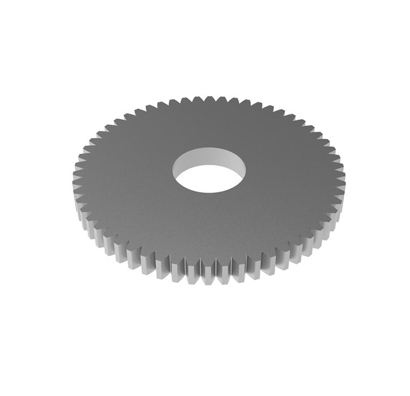 Engranaje de metal Módulo 0.50, Dientes 58Z, Forma recto