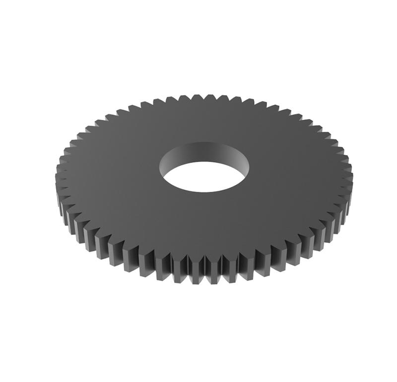 Engranaje de metal Módulo 0.500, Dientes 58Z, Forma