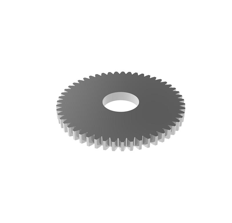Engranaje de metal Módulo 0.400, Dientes 48Z, Forma