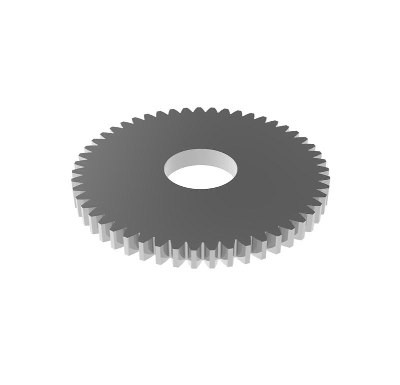 Engranaje de metal Módulo 0.60, Dientes 51Z, Forma recto