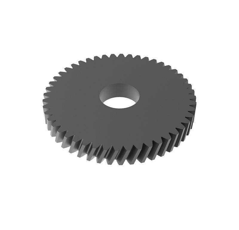 Engranaje de metal Módulo 0.40, Dientes 48Z, Forma helicoidal