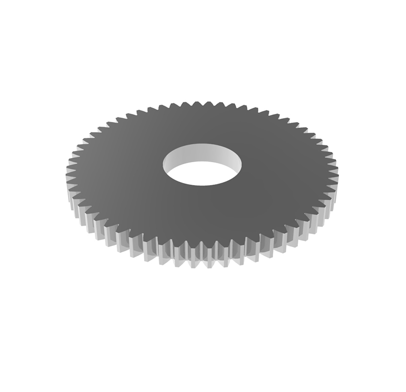 Engranaje de metal Módulo 0.50, Dientes 60Z, Forma recto