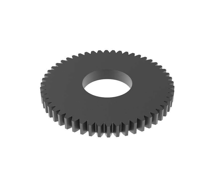 Engranaje de metal Módulo 0.500, Dientes 52Z, Forma